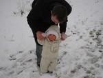 tippeln im Schnee