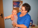 mit der Oma